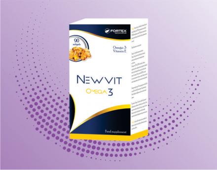 ნიუვიტი ომეგა -3 /NEWIT OMEGA-3